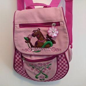 Scooby Doo Y2K Pink Flower Print Mini Backpack Bag